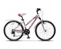 Велосипед STELS 26' рама женская, алюминий, MISS-6100 белый/красный, 21 ск., 15'