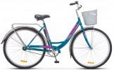 Велосипед 28' городской, рама женская STELS NAVIGATOR-345 LADY морская волна, 1 ск., 20' Z010 LU0812