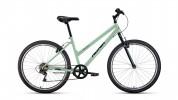 Велосипед 26' хардтейл, рама женская ALTAIR MTB HT 26 low мятный/черный, 6 ск., 15' RBKT0MN66013