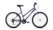 Велосипед 26' хардтейл, рама женская ALTAIR MTB HT 26 low фиолетовый/белый, 6 ск., 15' RBKT0MN66015