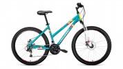 Велосипед 26' хардтейл, рама женская FORWARD IRIS 26 2.0 disc зеленый мат., 18 ск.,17' RBKW97N6P002