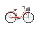 Велосипед 28' дорожный, рама женская FOXX Vintage бежевый + передняя корзина 28SHU.VINTAGE.BE0