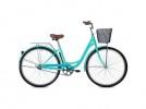Велосипед 28' дорожный, рама женская FOXX Vintage бирюза + передняя корзина 28SHU.VINTAGE.GN0 (20)