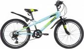 Велосипед 20' хардтейл NOVATRACK RACER синий, тормоз V-Brake, 6 ск. 20SH6V.RACER.BL20