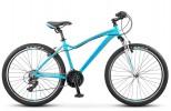 Велосипед 26' рама женская, алюминий STELS MISS-6000 V голубой, 18 ск., 15' LU070128