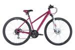 Велосипед 28' рама женская, алюминий STINGER LIBERTY Evo розовый, диск, 24 ск., 17'