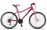 Велосипед 26' рама женская STELS MISS-5000 V вишнево-розовый, 21 ск., 16' (2021) LU089373