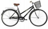 Велосипед 28' городской, рама женская FOXX FIESTA черный+передняя корзина 20' 28SHC.FIESTA.20BK1