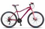 Велосипед 26' рама женская STELS MISS-5000 D диск, Вишнёвый/розовый 2021, 21 ск., 18' K010 LU096276
