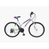 Велосипед 26' хардтейл, рама женская TOPGEAR Style 21 ск, торм. V-brake бело-фиолетовый 16' ВН26433К