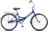 Велосипед 24' складной STELS PILOT-710 синий 16'