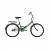 Велосипед 24' складной STELS PILOT-710 черный/зеленый 16'