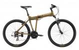 Велосипед STARK 16 Cobra 26' 19,5' хардтейл, рама алюминий, 21 ск., бронзово-коричневый