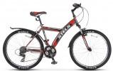 Велосипед 26' хардтейл STELS NAVIGATOR-550 MD диск, черный/зеленый 21ск., 18'