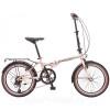 Велосипед NOVATRACK 20' суперскладной AURORA золотистый беж, 6 ск. 20 AURORA 6 SV.GD 6