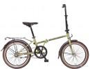 Велосипед NOVATRACK 20' суперскладной AURORA хаки, 2 ск. 20 AURORA 2 S.GR 6 (19-З)