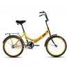 Велосипед 20' складной ALTAIR CITY желтый, 14' RBKT7YF01004