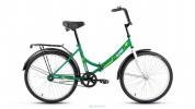 Велосипед ALTAIR 24' складной ALTAIR CITY зеленый, 16' RBKN8YF41002