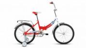 Велосипед ALTAIR 20' складной ALTAIR CITY BOY compact белый/красный RBKT75А01003
