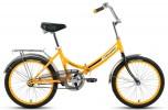 Велосипед 20' складной FORWARD ARSENAL 20 1.0 желтый RBKW9YF01005