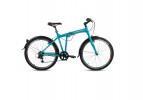 Велосипед FORWARD 26' складной, рама алюминий, TRACER 1.0 тормоз V-Brake, мятный, 6 ск. RBKW7R266006