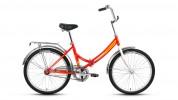 Велосипед FORWARD 24' складной VALENCIA 1.0 красный RBKD7YF41005