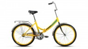 Велосипед FORWARD 24' складной VALENCIA 1.0 желтый RBKD7YF41004