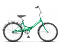 Велосипед 24' складной STELS PILOT-710 зеленый/желтый 16'