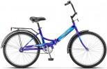 Велосипед ДЕСНА 24' складной Десна-2500 темно-синий