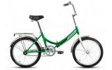 Велосипед FORWARD 20' складной ARSENAL 1.0 зеленый RBKW7YF01010
