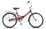 Велосипед 24' складной STELS PILOT-710 коричневый/красный 16'