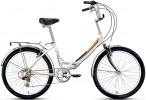 Велосипед FORWARD 24' складной VALENCIA 2.0 белый RBKD7YF46003