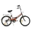 Велосипед 20' складной STELS PILOT-310 черный/оранжевый, 1 ск., 13'