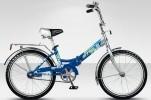 Велосипед 20' складной STELS PILOT-310 бирюзовый/синий, 1 ск., 13'