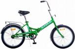 Велосипед 20' складной STELS PILOT-310 зеленый/желтый, 1 ск., 13'