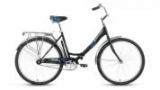 Велосипед FORWARD 26' складной SEVILLA 1.0 черный матовый RBKW7RF61002