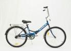 Велосипед 24' складной STELS PILOT-710 черный/синий
