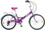 Велосипед NOVATRACK 24' складной FS тормоз V-brake, фиолетовый, 6 ск. 24 FFS6SV.VL 8