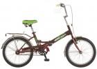 Велосипед NOVATRACK 20' складной FS30 бордовый 20 FFS 301V.CH 6