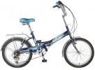 Велосипед NOVATRACK 20' складной FS30 синий, 6 скор. 20 FFS 306SV.BL 7