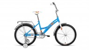 Велосипед ALTAIR 20' складной ALTAIR KIDS compact голубой, 13' RBKN8JF01002