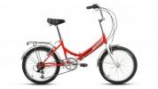 Велосипед 20' складной FORWARD ARSENAL 20 2.0 красный, 6 ск., 14' RBKW9YF06004