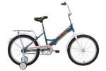 Велосипед 20' складной FORWARD TIMBA синий, 13' RBKW8JF01002 (19-З)
