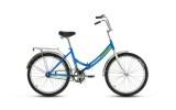 Велосипед 24' складной FORWARD VALENCIA 1.0 синий, 3 ск., 16' RBKW8YF43004