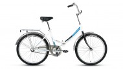 Велосипед 24' складной FORWARD VALENCIA 24 1.0 белый, 16' RBKW9YF41003