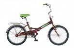 Велосипед 20' складной NOVATRACK FS 30 бордовый 20 FFS 301V.CH 6-1