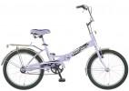 Велосипед 20' складной NOVATRACK FS 30 сиреневый 20 FFS 301 V.LC 5-1