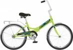 Велосипед 20' складной NOVATRACK TG 30 салатовый 20 NFTG 301.GN 20