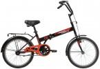 Велосипед 20' складной NOVATRACK TG 30 черный, тормоз V-brake 20 NFTG 301 V.BK 20