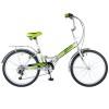 Велосипед 24' складной NOVATRACK TG серый, тормоз V-brake, 6 ск. 24 FTG 6 SV.GR 8-1